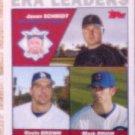 2004 Topps #347 Schmidt/K.Brown/Prior