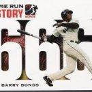 2005 Topps Barry Bonds Home Run History #666 Barry Bonds HR666