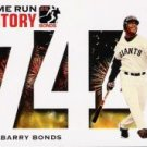 2005 Topps Barry Bonds Home Run History #744 Barry Bonds HR744