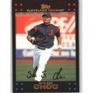 2007 Topps #343 Shin-Soo Choo - Cleveland Indians (Baseball Cards)