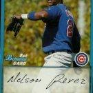 2009 Bowman Prospects #BP55 Nelson Perez