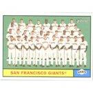 2010 Topps Heritage #167 San Francisco Giants