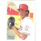 2010 Topps National Chicle #203 Edinson Volquez - Cincinnati Reds (Baseball Cards)