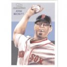 2010 Topps National Chicle #82 Josh Beckett - Boston Red Sox (Baseball Cards)
