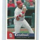 2007 Fleer #43 Albert Pujols (Cardinals)(Baseball Cards)