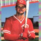 1989 Fleer #173  Jeff Treadway No Target ( Baseball Cards )