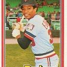 1981 Donruss #595 Dave Edwards