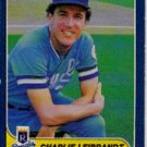1986 Fleer #13 Charlie Leibrandt