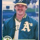 1986 Fleer #410 Keith Atherton