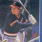1986 Fleer #581 Brett Butler
