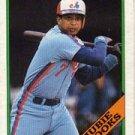 1988 Topps #50 Hubie Brooks ( Baseball Cards )
