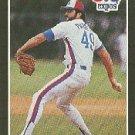 1989 Donruss #334 Jeff Parrett - Montreal Expos (Baseball Cards)