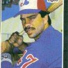 1989 Donruss #366 Nelson Santovenia - Montreal Expos (Baseball Cards)