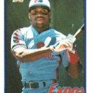 1989 Topps #560 Tim Raines