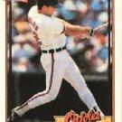 1991 Topps #42 Chris Hoiles