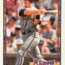 1991 Topps #623 Jeff Blauser