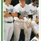 1991 Upper Deck #146 Ozzie Canseco w/Jose