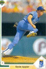 1991 Upper Deck #566 Kevin Appier
