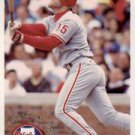 1994 Fleer #590 Dave Hollins ( Baseball Cards )