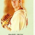 2010 Topps Allen and Ginter #330 Jonathan Papelbon SP - Boston Red Sox (Short Print)(Baseball Cards)