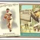 2010 Topps Allen and Ginter This Day in History #TDH66 Curtis Granderson - New York Yankees (Basebal