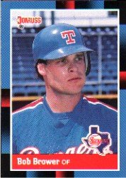1988 Donruss #346 Bob Brower ( Baseball Cards )