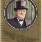 2007 Topps Distinguished Service #DS26 Winston Churchill