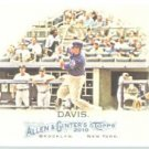 2010 Topps Allen and Ginter #60 Chris Davis - Texas Rangers (Baseball Cards)
