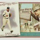 2010 Topps Allen and Ginter This Day in History #TDH19 Robinson Cano - New York Yankees (Baseball Ca