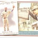 2010 Topps Allen and Ginter This Day in History #TDH56 Jimmy Rollins - Philadelphia Phillies (Baseba