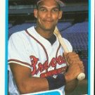 1990 Fleer #586 David Justice ( Baseball Cards )