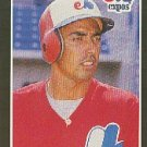 1989 Donruss #342 Tom Foley - Montreal Expos (Baseball Cards)