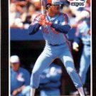 1989 Donruss #578 Luis Rivera UER DP - Montreal Expos ((Wrong birthdate))(Baseball Cards)