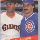 1989 Fleer #631 W.Clark/R.Palmeiro ( Baseball Cards )