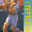 1992 Fleer 147 Mickey Tettleton