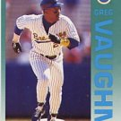 1992 Fleer 192 Greg Vaughn