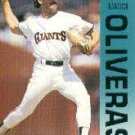 1992 Fleer 645 Francisco Oliveras