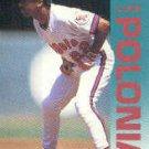 1992 Fleer 67 Luis Polonia