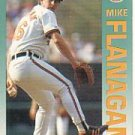 1992 Fleer 7 Mike Flanagan