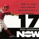 2007 Topps Generation Now #GN235 Ryan Zimmerman