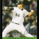 2007 Topps Update #208 Mark Buehrle - Chicago White Sox (Season Highlight)(Baseball Cards)