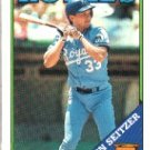 1988 Topps 275 Kevin Seitzer