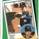 1988 Topps 661 Nolan Ryan TBC '83
