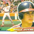 1988 Topps Big 52 Wally Joyner