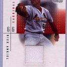 2001 SP Game Used Edition Authentic Fabric #RA Rick Ankiel DP