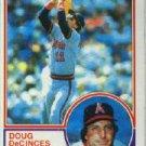 1983 Topps #341 Doug DeCinces