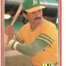 1981 Donruss #239 Tony Armas