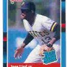 1988 Donruss 38 Jose Lind RR RC