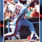 1988 Donruss Bonus MVP's #BC18 Tim Raines SP