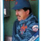 1988 Topps 164 Dave Johnson MG